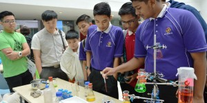 600 students spellbound by science