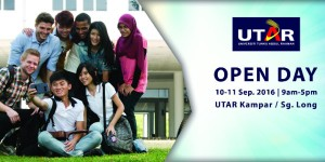 Prepare your weekend with UTAR's Open Day