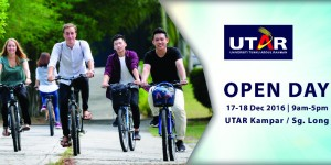 Plan your weekend at UTAR's Open Day