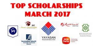 Top Scholarships of March 2017