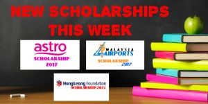 New Scholarships This Week (Apr. 1-7, 2017)