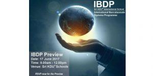 IBDP Preview at Sri KDU