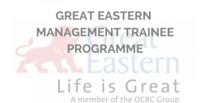 Great Eastern Management Trainee Programme