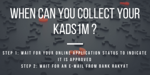 When Can You Collect Your KADS1M?