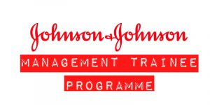 Apply to the Johnson & Johnson Management Trainee Programme