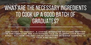 What Are the Necessary Ingredients To Cook Up A Good Batch Of Graduates?