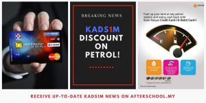 KADS1M Card Holders Will Receive Cash Rebates When They Fill Petrol