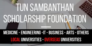 Tun Sambanthan Scholarship Foundation 2017