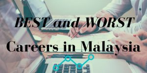 Best and Worst Careers in Malaysia 2017