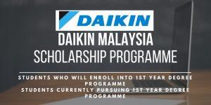Daikin Malaysia Scholarship Programme