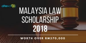 Apply Now For The Malaysia Law Scholarship, Valued At Over RM370,000