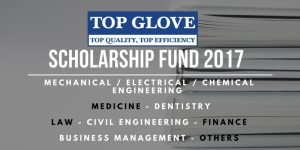Top Glove Scholarship Fund 2017